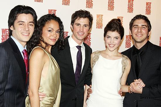West Side Story opening – George Akram – Karen Olivo – Matt Cavenaugh – Josefina Scaglione – Cody Green