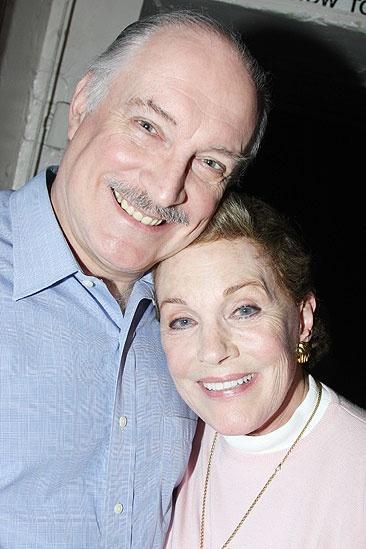 Julie Andrews at Blithe Spirit – Julie Andrews – Simon Jones