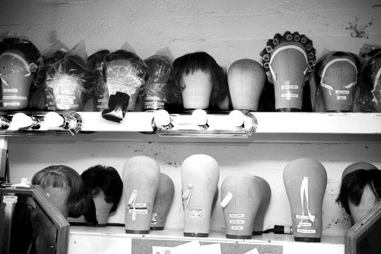 Girls in Jersey Boys – wigs