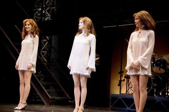 Girls in Jersey Boys – curtain