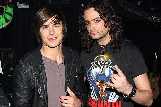 Zac Efron at Rock of Ages  Zac Efron  Constantine Maroulis