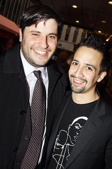 Next to Normal Opening Night – Bill Sherman – Lin-Manuel Miranda