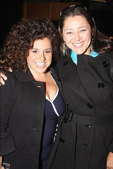 Next to Normal Opening Night – Marissa Jaret Winokur – Camryn Manheim
