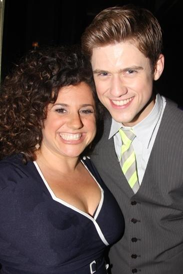 Next to Normal Opening Night  Marisa Jaret Winokur  Aaron Tveit