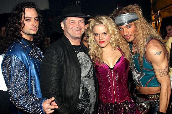 Random celebs at ROA  Constantine Maroulis  Micky Dolenz  Amy Spanger  James Carpinello 