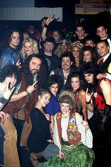 Random celebs at ROA – Micky Dolenz – group