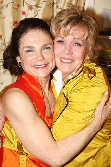 Jane Fonda at Irenas Vow  Tovah Feldshuh  Jane Fonda