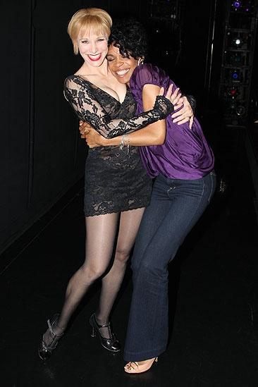 Michelle Williams and Chandra Wilson at Chicago – Charlotte d'Amboise – Michelle Williams2