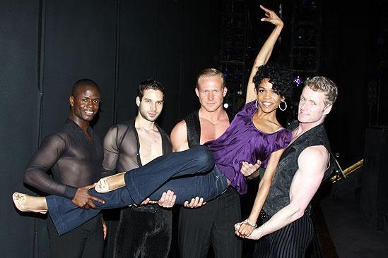 Michelle Williams and Chandra Wilson at Chicago - James T. Lane - Michael Cusumano – Michelle Wiliams - Jason Patrick Sands - Brian O'Brien
