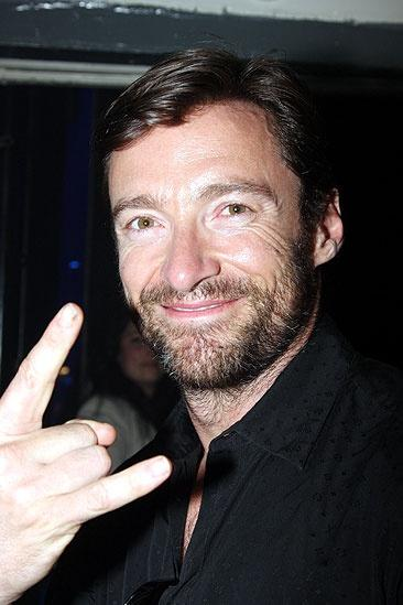 Hugh Jackman at ROA  Hugh Jackman
