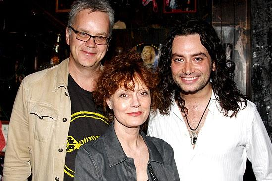 Susan Sarandon at Rock of Ages  Tim Robbins  Susan Sarandon  Constantine Maroulis