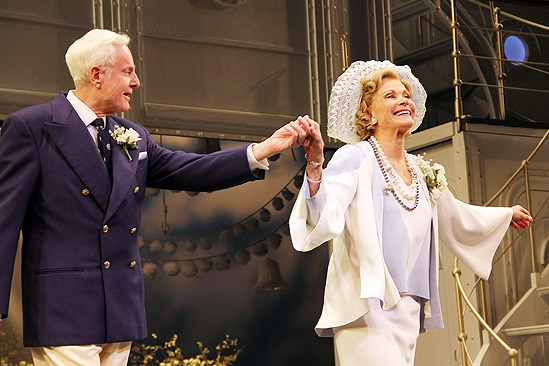 Anything Goes Opening Night – John McMartin – Jessica Walter