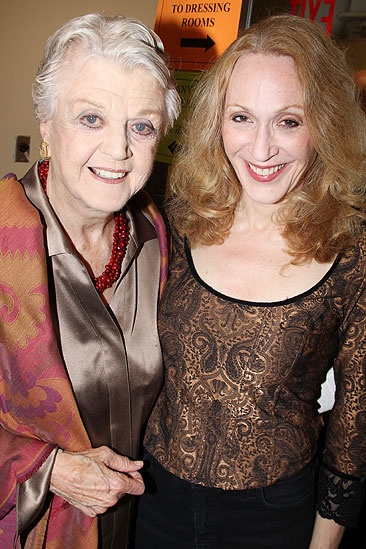Angela Lansbury and More at &lt;i&gt;Follies&lt;/i&gt; - Angela Lansbury  Jan Maxwell 