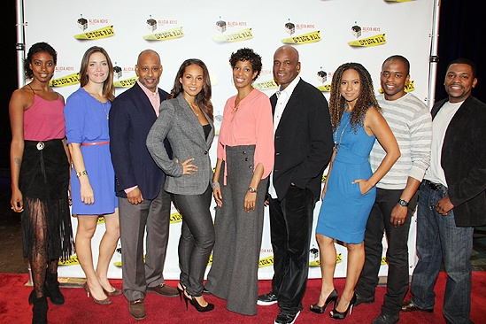 <i>Stick Fly</i> Meet and Greet – Condola Rashad – Rosie Benton – Ruben Santiago-Hudson – Alicia Keys – Lydia R. Diamond – Kenny Leon – Tracie Thoms – Dulé Hill – Mekhi Phifer