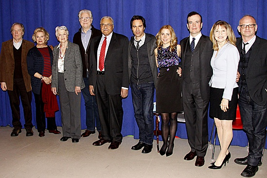 The Best Man – Press Conference – Michael McKean – Candice Bergen – Angela Lansbury – John Larroquette – James Earl Jones – Eric McCormack – Kerry Butler – Jefferson Mays – Donna Hanover – Michael Wilson