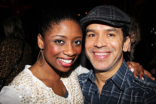 Memphis Celebrates 1,000 Performances – Montego Glover - Sergio Trujillo