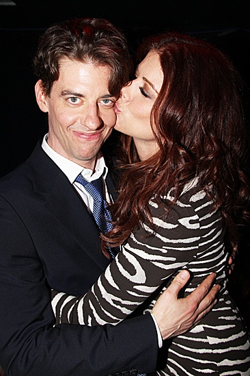 Peter and the Starcatcher Opening Night – Christian Borle – Debra Messing