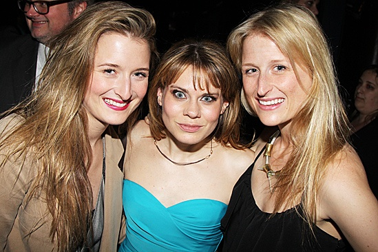 Peter and the Starcatcher Opening Night  Grace Gummer  Celia Keenan-Bolger  Mamie Gummer