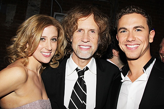 Ghost Opening Night – Caissie Levy – Glen Ballard – Richard Fleeshman