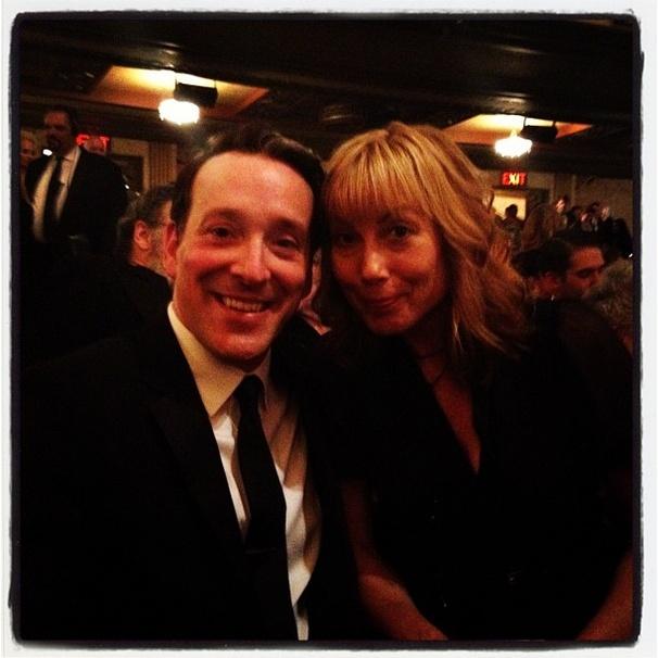2012 Tony Awards Instagram Snapshots – Jeremy Shamos - Nina Hellman