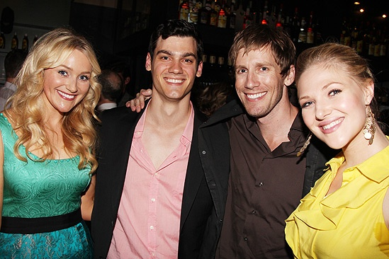 Dogfight Opening Night  Betsy Wolfe  tktk  Andrew Samonsky  Steffanie Leigh
