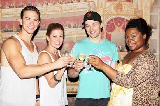 Ghost Celebrates 100 Broadway Shows - Richard Fleeshman – Caissie Levy – Bryce Pinkham – Da'Vine Joy Randolph