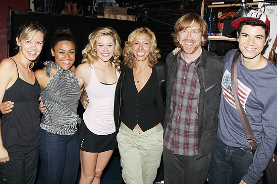 Amanda Green & Trey Anastasio at Bring It On - Kate Rockwell –Ariana DeBose - Taylor Louderman - Amanda Green – Trey Anastasio – Jason Gotay