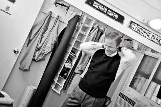 Backstage at Clybourne Park – Brendan Griffin