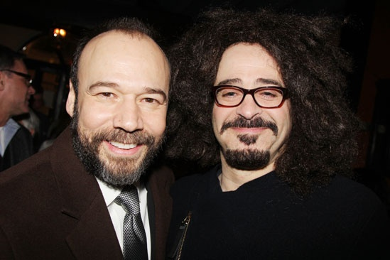 'Talley's Folly' Opening — Danny Burstein — Adam Duritz