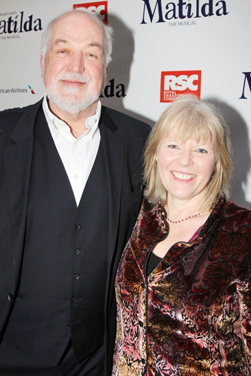 Matilda – Opening Night – Clive Jones – Vikki Heywood of CBE