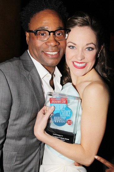 2013 Audience Choice Awards- Billy Porter- Laura Osnes