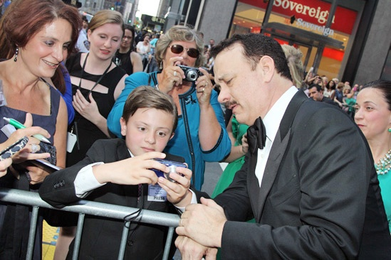 Tony Red Carpet- Tom Hanks