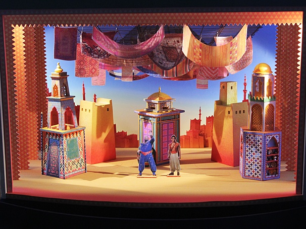 Aladdin - Meet and Greet - OP - Scenic designs