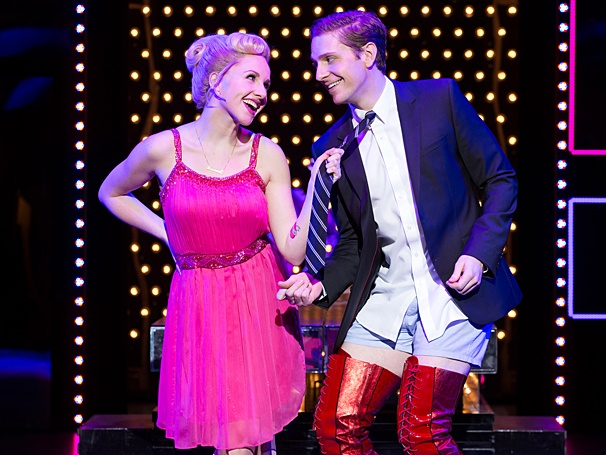 Kinky Boots - Show Photos - PS - 3/14 - Jeanna de Waal - Andy Kelso