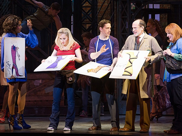 Kinky Boots - Show Photos - PS - 3/14 - Billy Porter - Jeanna de Waal - Andy Kelso - Marcus Neville - Natalie Joy Johnson