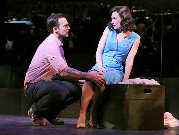 The Most Happy Fella - Show Photos - PS - 4/14 - Cheyenne Jackson - Laura Benanti