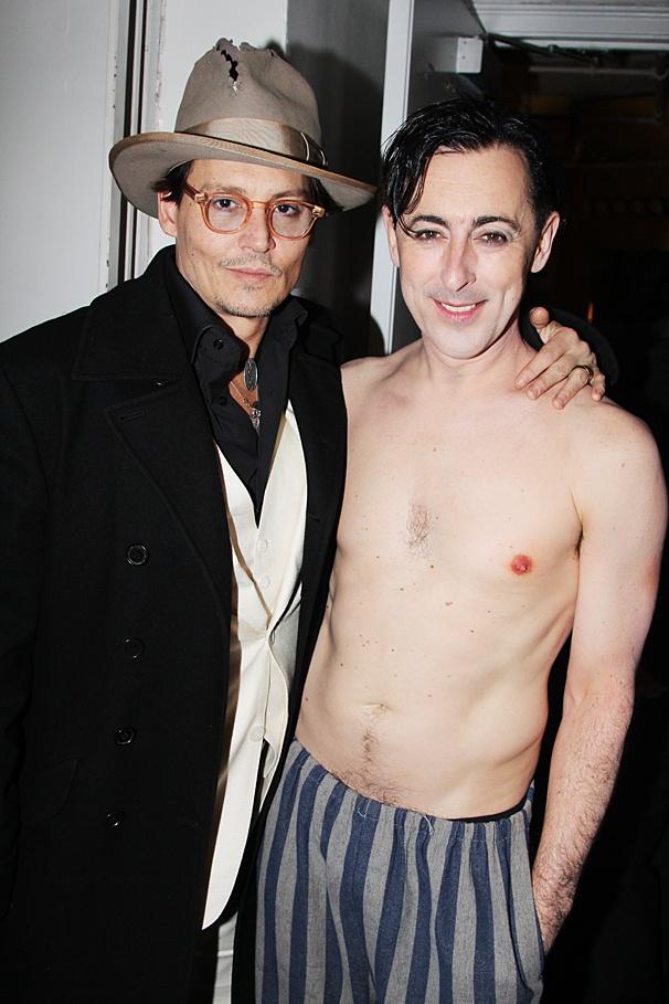 Cabaret - Opening - OP - 4/14 - Johnny Depp - Alan Cumming