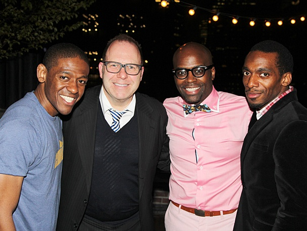After Midnight - TOmmy Tune Party - OP - 4/14 - Jared Grimes - Scott Sanders - Cedric Neal - Daniel Watts