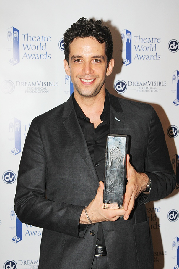 Theatre World Awards - OP - 6/14 - Nick Cordero