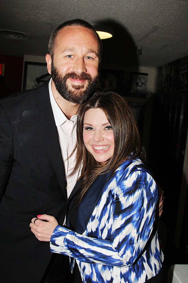Theatre World Awards - OP - 6/14 - Chris O'Dowd - Mary Bridget Davies