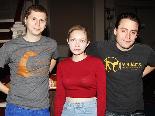 This Is Our Youth - Meet and Greet - OP - 8/14 - Michael Cera - Tavi Gevinson - Kieran Culkin