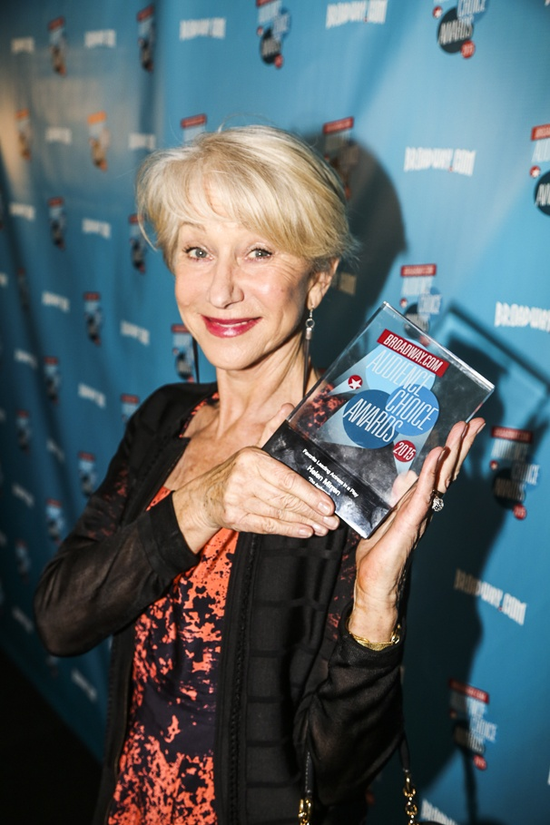 Broadway.com - Audience Choice Awards - 5/15 - Helen Mirren