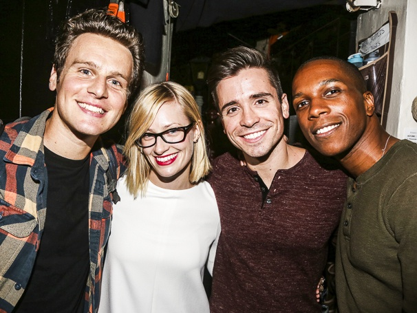Beth Behrs on broadway