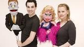 Avenue Q Final Cast Photo Shoot - Robert McClure - Anika Larsen (lucy t. slut)