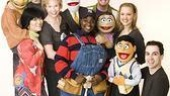 Avenue Q Final Cast Photo Shoot - full cast