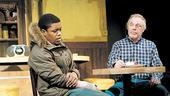 Jon Michael Hill & Michael McKean in the Chicago production of Superior Donuts
