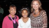 Vanessa Williams at Billy Elliot - Vanessa Williams - daughter Sasha - mom Helen