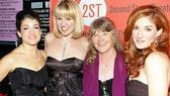 The leading ladies cheer their director, esteemed actress Judith Ivey.(Fun fact: Ivey was considered for the original 1976 play Vanities, but had to turn down the role.)