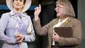 Stephanie J. Block as Judy Bernyl and Kathy Fitzgerald as Roz in 9 to 5.
