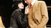 Jill Paice and Sean Mahon in The 39 Steps.